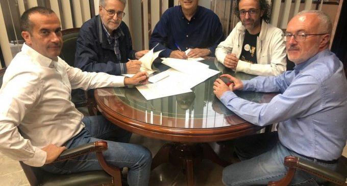 Albal signa el conveni anual amb Segon Temps-Orquestra de Cambra