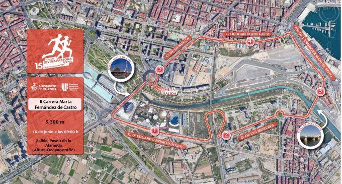 València acoge la carrera Marta Fernández de Castro