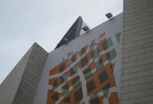 Las obras para retirar el trencadís de la fachada del Palau de la Música empezarán el próximo lunes 8 de junio