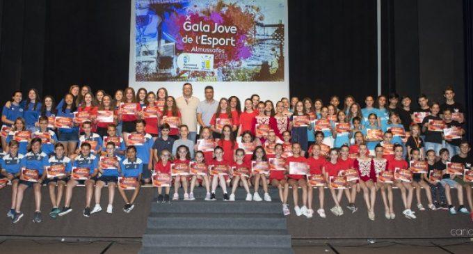 Almussafes reivindica els valors de l'esforç i la superació en la Gala Jove de l'Esport