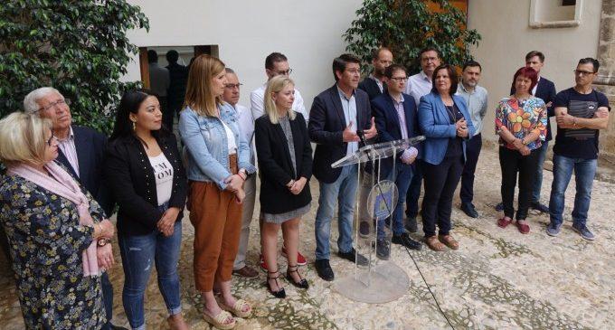 """Jorge Rodríguez dóna a conéixer l'estructura d'un nou Govern """"que treballarà per respondre a la confiança dipositada per Ontinyent"""""""