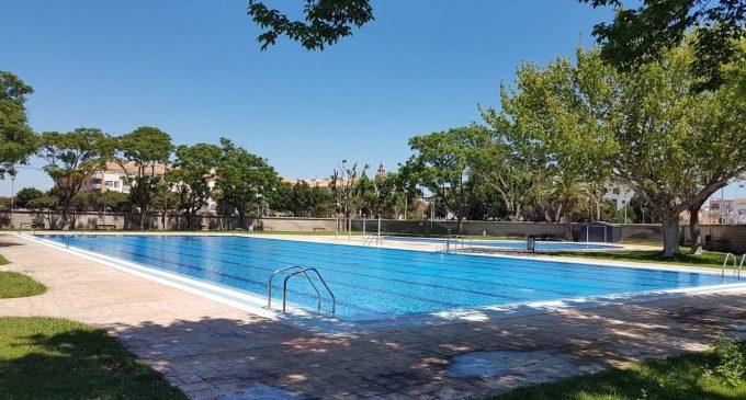 La piscina municipal de Foios: ja oberta per a donar la benvinguda a l'estiu 2019