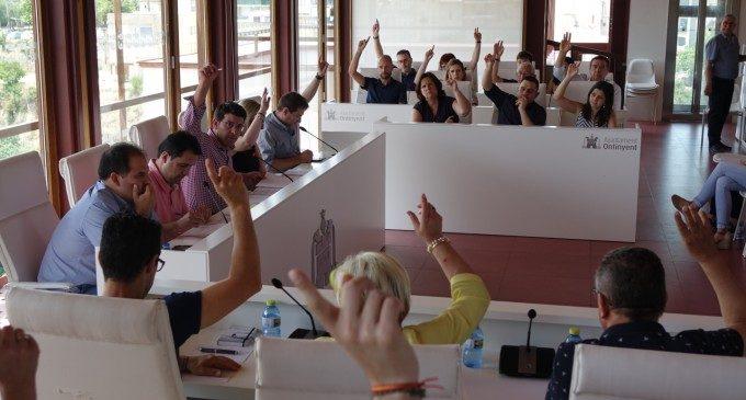 El ple d'Ontinyent aprova l'organització municipal en la nova legislatura