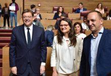 Comienza el pleno de investidura para reelegir a Puig 'president' de la Generalitat