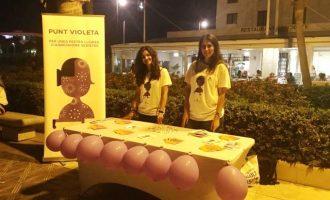 Els Punts Violeta atenen 310 peticions d'informació durant la festa de Sant Joan i cap incidència greu