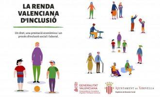 Xirivella supera els 100 expedients tramitats i resolts de Renda Valenciana d'Inclusió