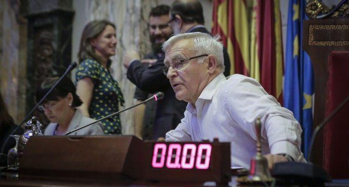 El Ple de l'Ajuntament de València exigeix al Govern d'Espanya una nova llei de finançament de les corporacions locals