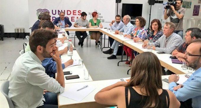 """PSPV, Compromís i Podem negocien el programa del Botànic II sense """"ansietat"""" i confien a arribar a la investidura"""