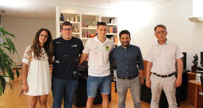 Marzà: 'Sacha es un referente internacional en la modalidad de 'one wall' y un embajador valenciano del juego de 'pilota''