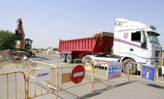 Les obres del depòsit agrícola mantindran tancat el Camí del Puig al juliol