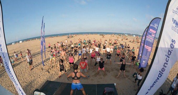 Tot un estiu d'esport gratuït a les platges de València