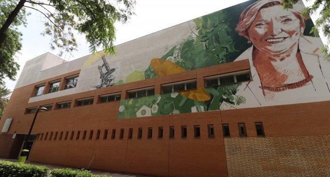 Un mural dedicat a l'oncòloga Anna Lluch