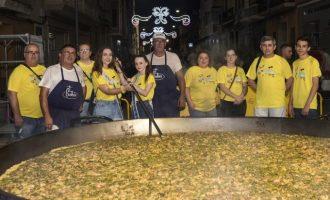 Almussafes finalitza les seues festes patronals amb el tradicional 'Homenatge a la Paella'