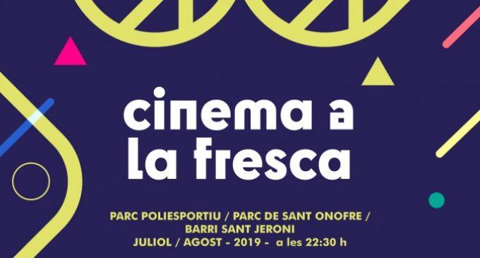 """Les nits de juliol i agost oferiran el """"Cinema a la Fresca"""" de Quart de Poblet"""