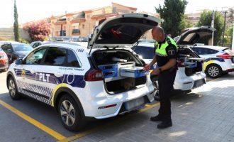 La Policía Local de Torrent mejora su flota con dos vehículos