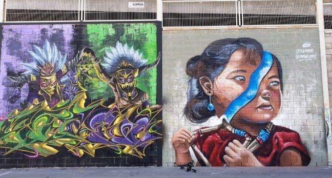 Burjassot suma nuevas intervenciones de arte urbano gracias a sus artistas locales