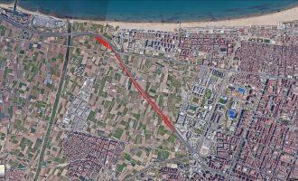 La ampliación de la V-21 o la pérdida de 62.000 m² de Horta Valenciana para siempre