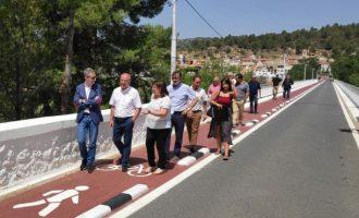Arcadi España: 'És prioritari impulsar la mobilitat sostenible per a facilitar l'activitat econòmica en els municipis de l'interior'