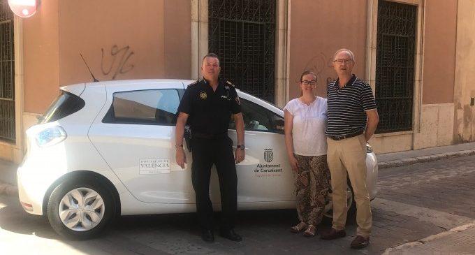 L'Ajuntament de Carcaixent adquireix un cotxe elèctric per a l'Àrea de Territori