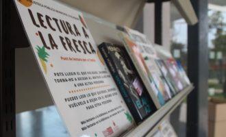 """Alaquàs fomenta la lectura en els espais públics amb la iniciativa """"Lectura a la fresca"""""""