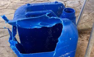 La piscina de Quart de Poblet vuelve a la normalidad tras la explosión
