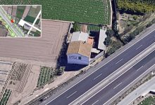 Per l'Horta se concentra contra la instalación de una torre eléctrica en la huerta por la ampliación de la V-21