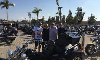 Centenares de motos se dan cita en la XII Matinal Ciutat de Torrent