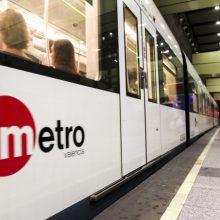 La Generalitat oferirà servei de metro i tramvia la nit del dimarts pel Festival de Pirotècnia del 9 d'Octubre