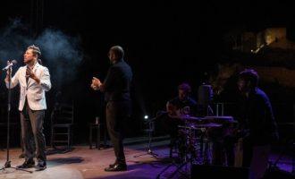 Miguel Poveda inauguró el festival Nits al Castell con una actuación espectacular