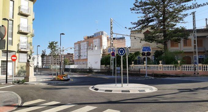 L'Ajuntament de Meliana obre el carrer València a la circulació