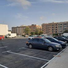 El nuevo parking de Meliana ya está en uso