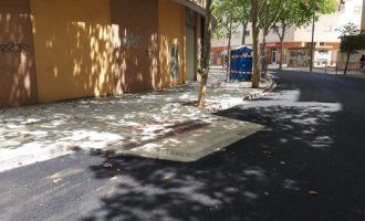 Paterna reubica un pas de Alfàbega per a millorar la seguretat per als vianants