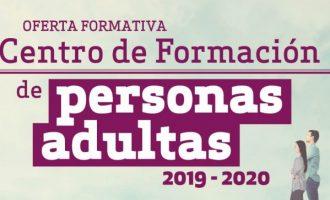 Ja es pot consultar l'oferta formativa dels Centres Municipals per a Persones Adultes de Paterna