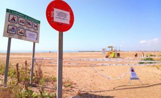 Bioremediació i una nova depuradora, possibles solucions al tancament de platges