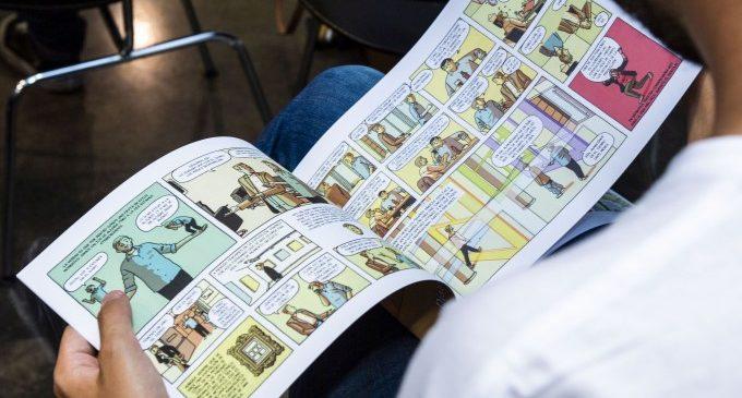 Paco Roca culmina el seu projecte per a l'IVAM amb un còmic exclusiu sobre el procés creador