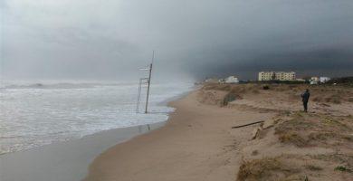 La successió de temporals insta l'acció 'sostenible' en el litoral valencià