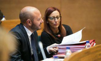 Acord de govern de PSPV i Compromís en la Diputació de València