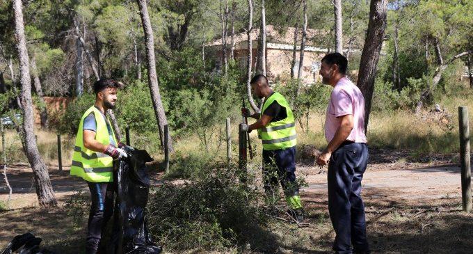 Torrent inicia els treballs de prevenció d'incendis forestals en el Vedat