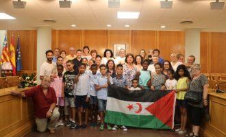 Deu xiquets i xiquetes Sahrauís són acollits a Quart de Poblet aquest estiu