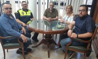 Ramón Marí se reúne con ACIXEA para abordar temas de comercio y seguridad