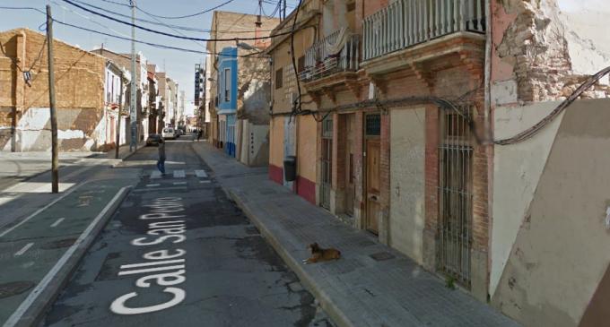Les obres de reurbanització del carrer Sant Pere al Cabanyal es duran a terme en tres mesos