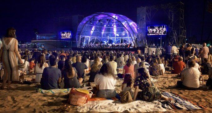 Concerts gratuïts a la platja de les Arenes de València