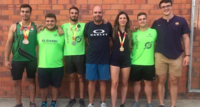 Gandia triomfa en el Campionat d'Espanya sub-20 de llançament de pes