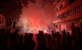 La pólvora, una de les protagonistes de les Festes d'Aldaia 2019