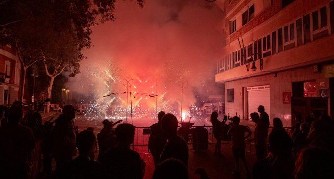 La pólvora, una de las protagonistas de las Fiestas de Aldaia 2019