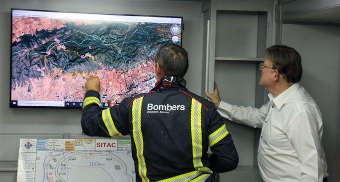 Estabilitzat l'incendi de Beneixama que ha arrasat més de 800 hectàrees