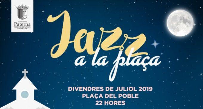 La Plaça del Poble de Paterna s'omple de jazz durant el mes de juliol