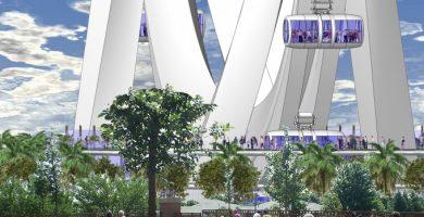 València rechazó la noria gigante al considerar que no encajaba con el proyecto de futuro de La Marina