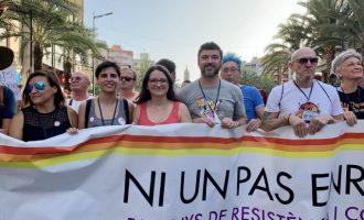 """Oltra invita a seguir el ejemplo valenciano para formar el Gobierno de España: """"Somos el espejo amable y solvente"""""""
