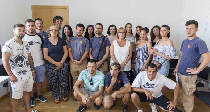 29 jóvenes han trabajado en el Ayuntamiento de Picasent durante un año
